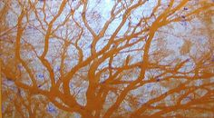 Donald Moffett - Artists - Marianne Boesky-video projection, oil and enamel on linen