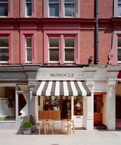 Chitern Street | The Monocle Café, Cire Trudon & Chiltern Firehouse