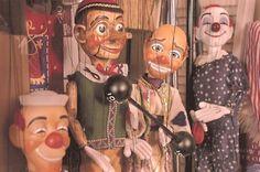circus Marionettes by conrad hartz