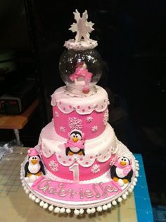 Art Another cute cake idea! Winter One-derland 1st-birthday