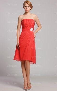 Discount Red Bridesmaid Dress BNNAH0057-Bridesmaid UK