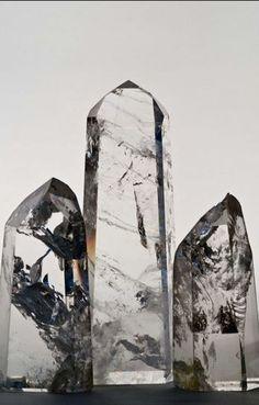 Natural non faceted quartz.