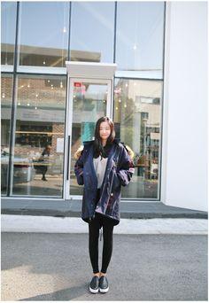 Sweet Liz Patch M Jacket   Korean Fashion