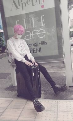 adorable, aesthetic, asian, asian boys, beautiful, belleza, boy, boys, clothes, cute, cutie, fashion, kawaii, lovely, moda, outfit, outfits, pale, pastel, pastel colors, pastel goth, pastel hair, pink, pink hair, pretty, ropa, supercute, sweet