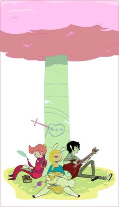 Prince Chewig-gum, Fionna et Marshall Lee