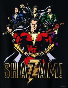 A whole new batch of Shazam! promo art has surfaced online, featuring fun new looks at Warner Bros. Sandberg-directed DC adventure, which stars Zachary Levi (Chuck) in the title role. Marvel Dc Comics, Dc Comics Heroes, Dc Comics Art, Marvel Vs, Marvel Heroes, Dc Comics Characters, Captain Marvel Shazam, Shazam Movie, Super Anime