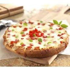Buffalo Mozzarella and Roma Tomatoes Pizza