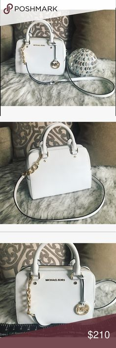 Michael Kors purse   New with tag never worn Gorgeous Michael Kors purse in color Optic White  MICHAEL Michael Kors Bags Satchels