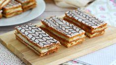 Cannoli con crema pastelera de vainilla, Receta Petitchef Cannoli, Pavlova, Food Cakes, Paris Brest, French Patisserie, Sweet Cakes, Original Recipe, Nutella, Cake Recipes