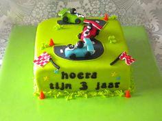 raceauto taart