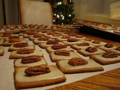 kimscookingfrenzy: German Anise Molasses Cookies (Lebkuchen)