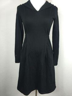 Ibex ft Amy Dress 100 Merino Wool Shawl Collar Women's Size Small E23 | eBay