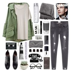 """""""Conflict"""" by dana-rachel ❤ liked on Polyvore featuring 6397, H&M, From the Road, Retrò, Korres, CASSETTE, NARS Cosmetics, Edward Bess, Aesop and ROOM COPENHAGEN"""