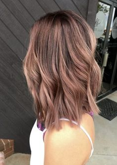 32 trendy hair color silver ombre rose gold - All For Hair Color Balayage Ombre Rose Gold, Rose Gold Hair Brunette, Pink Hair, Silver Ombre, Metallic Pink, Blonde Brunette, Ombre Hair Color, Cool Hair Color, Hair Colors