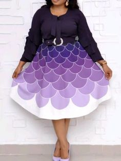 Plus Size Nine Points Sleeve Print Mid-Calf Expansion Womens Dress online shopping mall, buying fashion dresses & rapid delivery. Start your amazing deals with big discounts! Evening Dresses With Sleeves, Cheap Dresses, Cheap Clothes, Buy Dress, Plus Size Dresses, Blouses For Women, Trendy Outfits, Plus Size Fashion, Ideias Fashion
