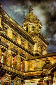 John Street, Merchant City, Glasgow, Scotland