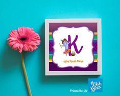 Krishna / Kisna (Hindu God) themed Alphabet (for Return Gift or Nursery decor) Initial for baby boy Krishna Birthday, Boy Birthday, Nursery Decor, Party Themes, Initials, Alphabet, Baby Boy, Framed Prints, Gifts