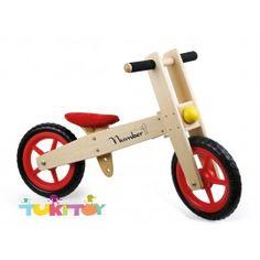 Bicicleta aprendizaje de madera numero 1