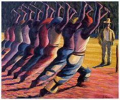 Gerard Sekoto, Song of the Pick on ArtStack #gerard-sekoto #art