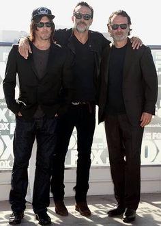 Norman Reedus {Daryl Dixon} JDM {Negan} Andrew Lincoln {Rick Grimes} ♡Bunch of Gorgeous Guys♡