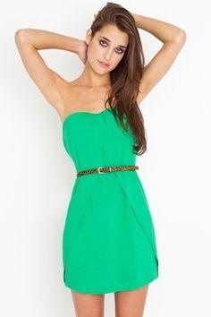 The Splits Dress - Clover Green | NASTY GAL | Jeffrey Campbell shoes, Cheap Monday, MinkPink, BB Dakota, UNIF + more! - StyleSays