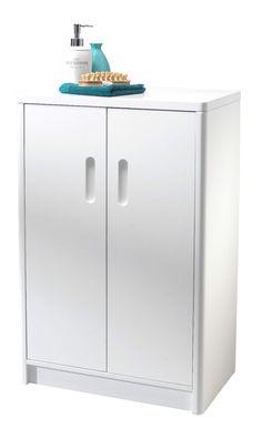 44 Trendy Ideas For Bath Room White Storage Woods Small Dark Bathroom, Bathroom Mirror With Shelf, White Bathroom, Bathroom Cabinets Uk, Bathroom Flooring, Small Bathroom Organization, Bathroom Storage, Crate Storage, Locker Storage