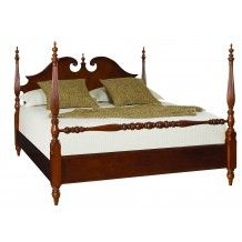 Cherry Grove 45 Low Poster Bed (Quenn) by American Drew SKU 791-383R Include Cherry Grove 45 Low Poster Bed (Quenn) Only  Price:$1,210.00