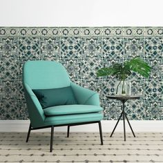 We adore: Quercus & Co's unique and versatile wallpaper tiles