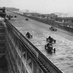 Fiat rooftop racetrack