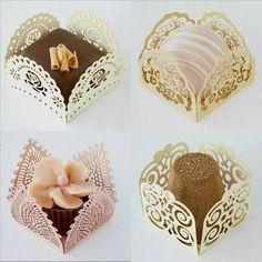 Resultado de imagem para embalagens doces finos casamento