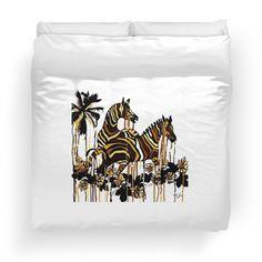 Autumn Zebras Abstract:Saundramylesart
