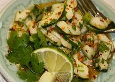 HCG Diet Recipes - Thai Cucumber Salad Recipe