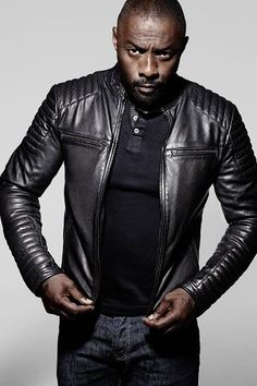 ASOS Leather Bomber Jacket. It's for men but the sleeve cuts help ...