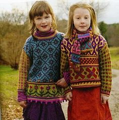 Handmade sweaters.