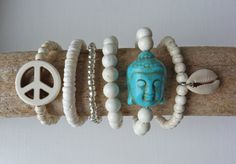 beachcomber yoga by the sea Buddha bracelet  by beachcombershop, $16.00