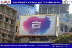 #Eskay property creates outdoor campaign for its new property The E Hotel with Global Advertisers. Excellent display and execution by Global Advertisers for The E Hotel Eskay Resorts #Hoardings #OOHCampaign