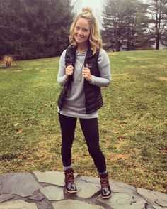 Sperry Duck Boots, Patagonia vest, SN9 posh pants and hoodie  http://sn9boutique.com/