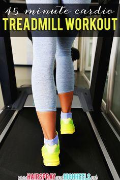 45 Minute Treadmill Workout with Intervals!
