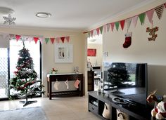 How to make a Christmas Bunting