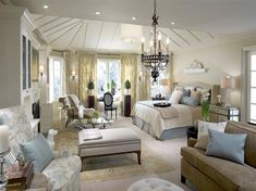 Bedroom Inspiration: Luxury at its Finest | Saatva's Sleep Blog Which of these luxury bedrooms would you want to sleep in?