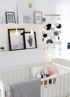 kids room scandinavian art print kiddo boy girl nursery black and white Nursery 2019 kids room scandinavian art print kiddo boy girl nursery black and white Nursery Tour Baby Bedroom, Girls Bedroom, Baby Girl Rooms, Pastel Bedroom, Baby Room Art, Pink Bedrooms, Dressing Room Design, Baby Cribs, Baby Girl Nurseries