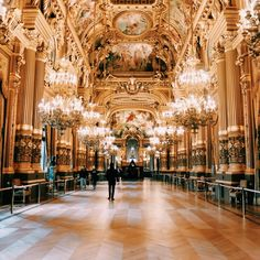 The Palais Garnier is one of the most famous opera houses in the world. Even if you aren