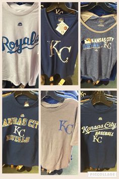 Six new Kansas City Royals shirts!  #brantsclothing