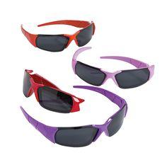 Bright Color Sunglasses - OrientalTrading.com $10 per dozen for diva's party