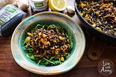 Salát z černé čočky Beluga   dmBio - Žij svůj život s radostí a lehkostí. Vegetables, Ethnic Recipes, Food, Dark Around Eyes, Red Peppers, Essen, Vegetable Recipes, Meals, Yemek