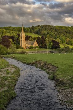 St Mary's, Stow, Scottish Borders   by Colin Myers Photography