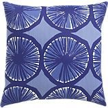 Land of Nod pillow blue