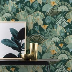 RW339 - Ryan Wallcoverings Ltd - Wallpaper and Wooden Curtain Poles online Albany Wallpaper, Feature Wallpaper, Luxury Wallpaper, Contemporary Wallpaper, Glitter Wallpaper, Tree Wallpaper, Home Design, Green Floral Wallpaper, Stunning Wallpapers