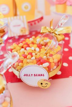 Jelly bean bowl from