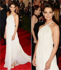 Katie Holmes in the MET Ball 2013